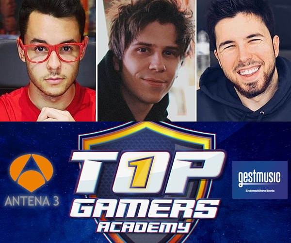 """Top Gamers Academy"", el primer  reality-talent mundial de videojuegos"